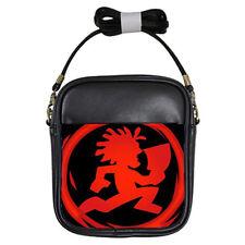 Insane Clown Posse Concert Black Leather Sling Crossbody Bags Wallet Purse Phone