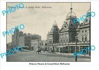8x6 PHOTO OF OLD GRAND HOTEL PRINCESS THEATRE VIC