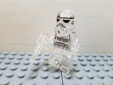 Custom Trans Clear Storm Trooper Lego Compatible Minifigure Star Wars