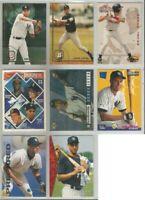 Derek Jeter New York Yankees 8 card 1994-1995 lot-all different