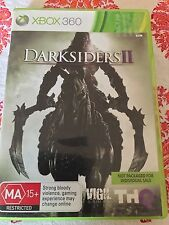 DARKSIDERS 2 WITH BONUS CONTENT XBOX 360 ORIGINAL AUS PAL VERSION VGC