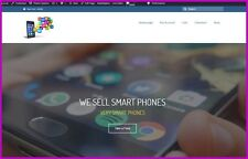 MOBILE PHONES Website Earn £253.98 A SALE|FREE Domain|FREE Hosting|FREE Traffic