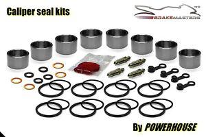 Suzuki GSX 600 Pistone Pinza Freno Anteriore Sigillare Ricostruzione Set Kit FS