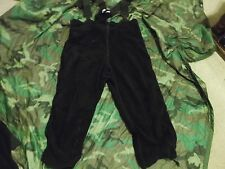 US MILITARY POLARTEC COLD WEATHER OVERALLS SIZE LARGE -SHORT/REG