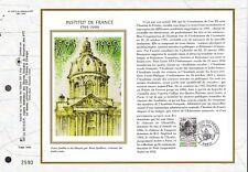 2973++FEUILLET CEF SUR  SOIE 1er JOUR 1995   INSTITUT  DE  FRANCE
