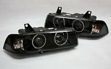 VIDRIO TRANSPARENTE G5 CCFL NEON CONJUNTO DE FAROS OJOS ANGEL BMW E36