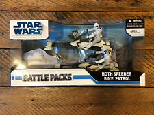 Star Wars Legacy Collection Hoth Speeder Patrol Bike Battle Packs Empire Strikes