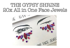 20xTHE GYPSY SHRINE All In One Eyes Face Body Jewels Festival Makeup Gems Tattoo