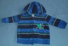 Tiny Little Wonders Cute Boys Striped Fleece Hooded Jacket, Size 0