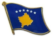 Kosovo Country Flag Bike Motorcycle Hat Cap lapel Pin