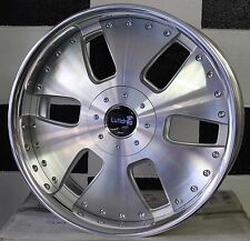 18x8 10 hole EUROHART RD6 JAPANESE MADE 2 PEICE ALLOY WHEELS SUIT MANY CARS