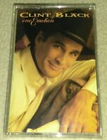 "Clint Black ""One Emotion"" cassette tape 1994"