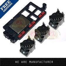 Ignition Coil Set of 3 & Control Module Kit for Chevy Pontiac Buick Olds Isuzu