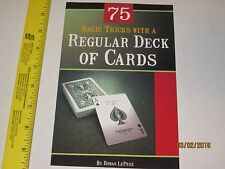 75 Magic Tricks With A Regular Deck of Cards - Learn How To Book, Close Up