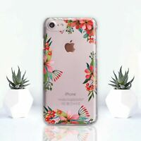 iPhone X Silicone Cover Floral Flowers iPhone 11 XR Case iPhone 7 8 Plus XS Max