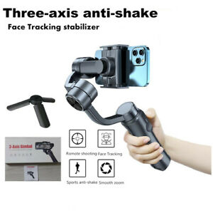 Electric 3-Axis Handheld Gimbal Stabilizer / Selfi Stick For Smartphones blogger
