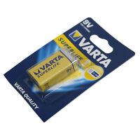ds Confezione 1 Pila Batteria Varta SuperLife 9V 6LP3146 MN1604 dfh