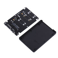 """Mini Pcie mSATA SSD to 2.5"""" SATA3 Adapter Card with Case 7 mm Thickness"""