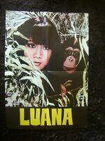 Luana La Figlia Delle Foresta Vergine 1979 - Original movie poster-Ex Yugoslavia