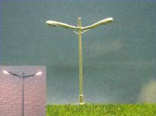S310 - 10 pcs Streetlights peitschenlampen 2 Flame 5,5cm Whip Light