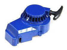 BLUE ALUMINUM PULL STARTER START RECOIL 47/49CC MINI POCKET BIKE ATV V PU10B
