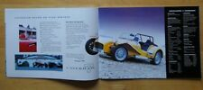 CATERHAM Seven range prestige brochure from 1997 - rare 7