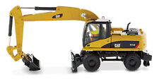 Pista h0-caterpillar m318d grúa -- 85177 nuevo