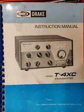 R.L. Drake T-4XC Ham Radio Transmitter Vintage