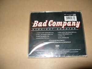 Bad Company  Straight Shooter 1999 Remastered cd New & Sealed (L.S.)