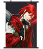 B3808 Kuroshitsuji Black Butler Grell anime manga Wallscroll Stoffposter 25x35cm