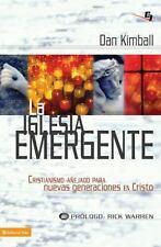 NEW - La iglesia emergente (Biblioteca de Ideas de Especialidades Juveniles)