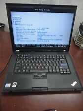 "Lenovo ThinkPad T500 15.4"" Core 2 Duo 2.53Ghz 4GB 160GB LINUX DVDRW  WiFi Laptop"