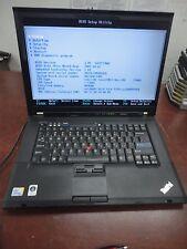 "Lenovo ThinkPad T500 15.4"" Core 2 Duo 2.53Ghz 4GB 160GB HDD DVD-RW  Wi-Fi Laptop"