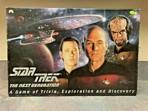 STAR TREK TNG Next Generation BOARD GAME Trivia & Discovery *Complete*