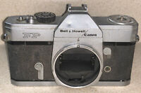 Vintage Bell & Howell /Canon FP SLR Camera Body For Parts Only Untested