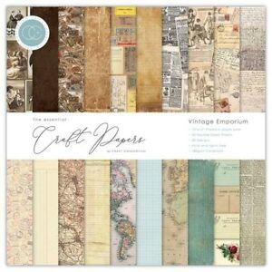 Craft Consortium The Essential Craft Papers 12 x 12in Vintage Emporium