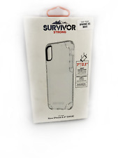 Genuine Griffin Survivor Clear Case for Apple iPhone XS Max Transparent #0202