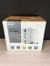 QNAP TS-212 BAY-2 NAS Storage - USED -  Execellient Condition