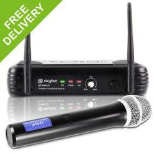 Skytec Professional 1 Channel UHF Wireless Radio DJ PA Karaoke Microphone System