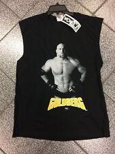 New NWT Vintage 1998 WCW GOLDBERG Wrestling Muscle Shirt XL/2XL WWF WWE VTG