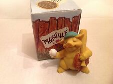 Ganz Pigsville Figurine Play Ball 1993 NIB