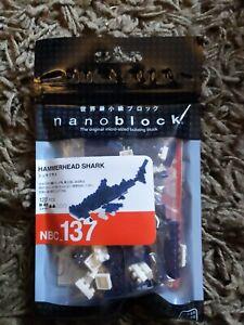 Nano blocks Hammerhead Shark NBC137 new in sealed pack
