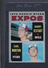 1970 Topps #109 Expos Rookie Stars Jestadt/Morton NM *8192