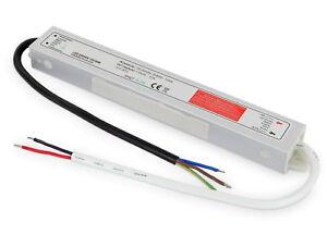 Esterno Trasformatore IP67 30W 230V>12V - LED Compatibile Da 1W - Umidificatore