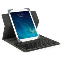 Universal Bluetooth Tablet Tastatur Keyboard Case Hülle QWERTZ - NEU & OVP & TOP