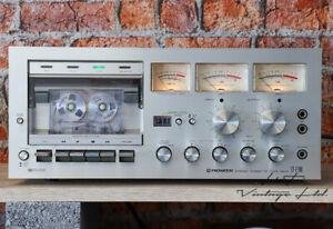 Pioneer CT-F700 2-head Stereo Cassette Tape Deck HiFi Vintage