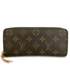 Louis Vuitton Monogram Portefeiulle Clemence Zip Around Long Wallet /A0138