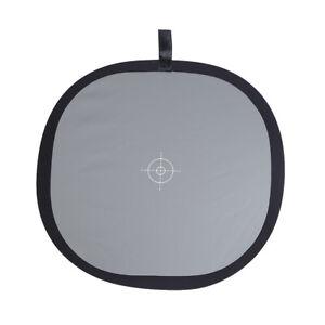 "30cm / 12"" Foldable Grey/White Balance 18% Grey Gray Reference Reflector W4P8"