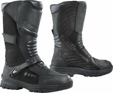 STIVALI BOOTS MOTO IMPERMEABILI FORMA ADV TOURER ADVENTURE LEATHER PELLE TG 41