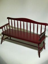 Miniature Dollhouse Doll House Miners Couch 1:12